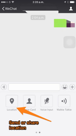 Falling words wechat effects Tick Tock: