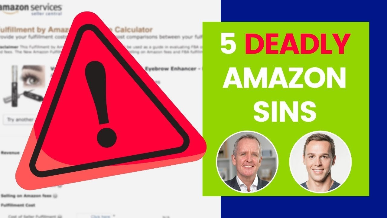 featured image:How To Avoid Mistakes Selling On Amazon FBA