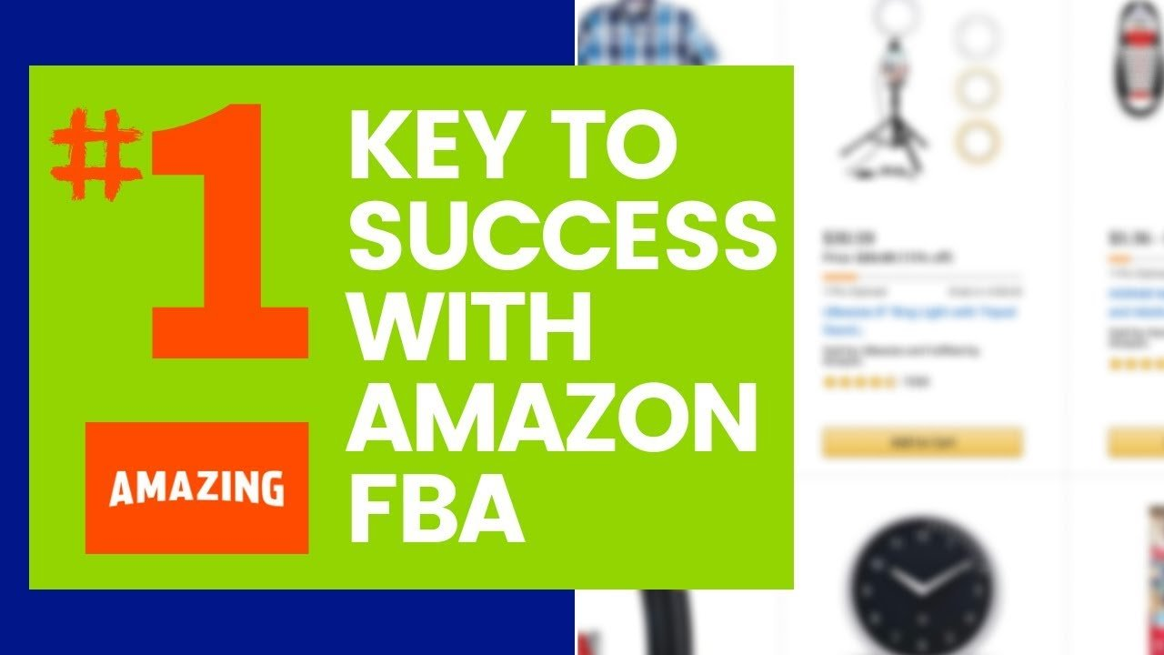 featured image: amazon fba success