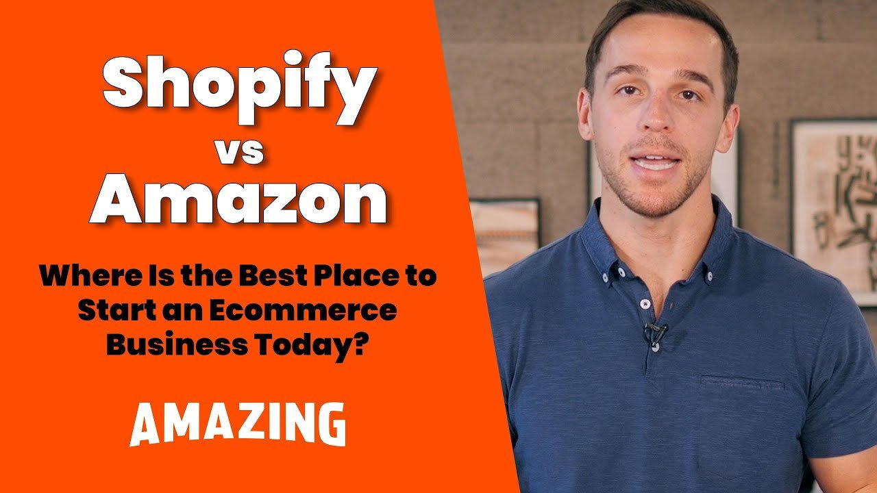 featured image:shopify vs amazon